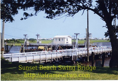 Sunset Beach Swing Bridge